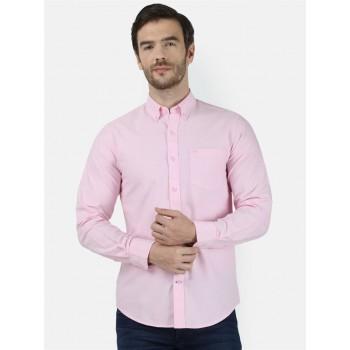 Monte Carlo Men Casual Wear Pink Shirt
