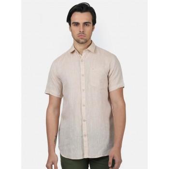 Monte Carlo Men Casual Wear BEIGE Shirt