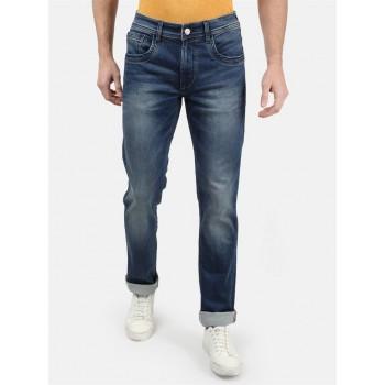 Monte Carlo Men Casual Wear Blue Jeans