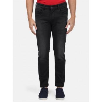 Monte Carlo Men Casual Wear Black Jeans