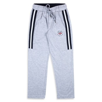Monte Carlo Boys Solid  Grey Track Pants