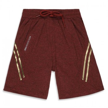 Monte Carlo Boys Red Solid Shorts