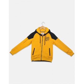 Monte Carlo Kids Caual Wear Yellow Sweatshirt