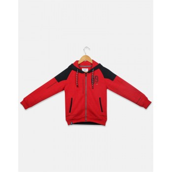 Monte Carlo Kids Caual Wear Red Sweatshirt