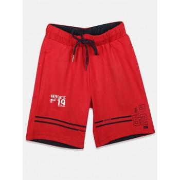 Monte Carlo Boys Casual Wear Red Bermuda