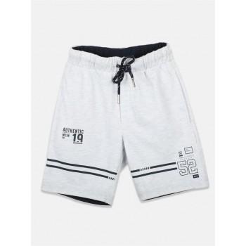 Monte Carlo Boys Casual Wear Grey Bermuda