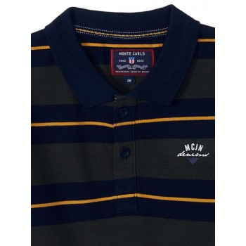 Monte Carlo Boys Casual Wear Navy T-Shirt