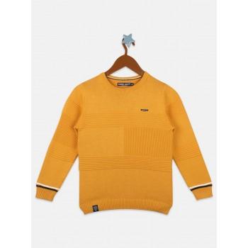 Monte Carlo Boys Casual Wear Yellow Pullover