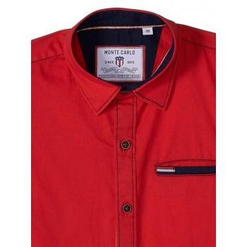 Monte Carlo Boys Casual Wear Red Shirt