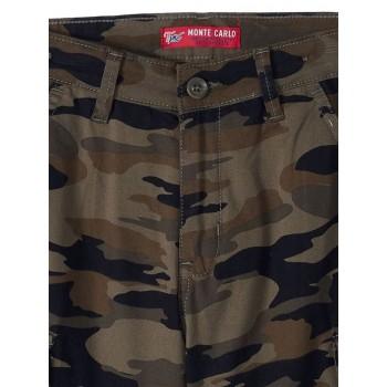 Monte Carlo Boys Casual Wear Brown Shorts