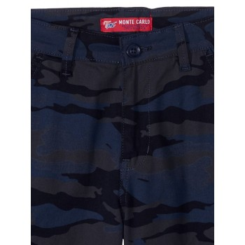 Monte Carlo Boys Casual Wear Blue Shorts