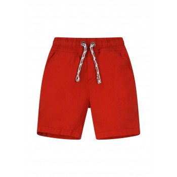 Mothercare Boys Red Solid Shorts