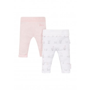 Mothercare Girls Assorted Printed Pack of 2 Joggers