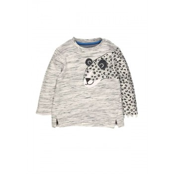 Mothercare Boys Grey Textured Sweatshirt