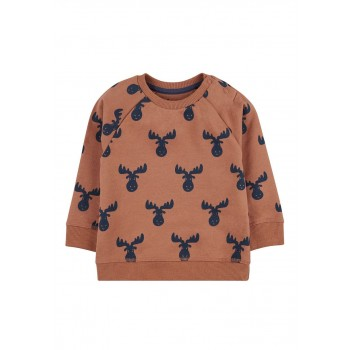 Mothercare Boys Burgundy Printed Sweatshirt