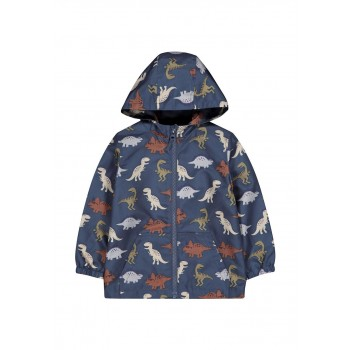 Mothercare Boys Blue Printed Jacket