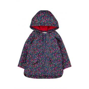 Mothercare Girls Navy Floral Print Jacket