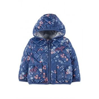 Mothercare Girls Blue Floral Print Jacket