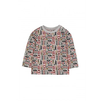 Mothercare Boys Grey Printed T-Shirt