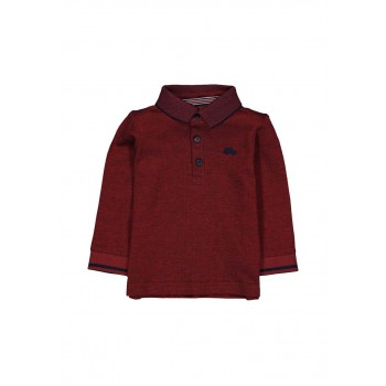 Mothercare Boys Red Textured T-Shirt