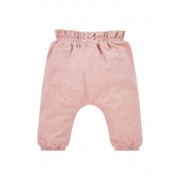 Mothercare Girls Pink Printed Trousers