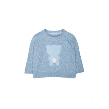 Mothercare Boys Blue Applique Pullover