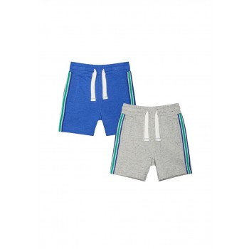 Mothercare Boys Assorted Solid Pack of 2 Shorts