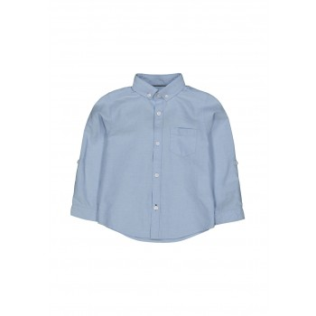 Mothercare Boys Blue Solid Shirt
