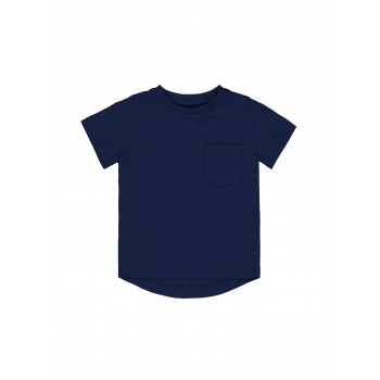 Mothercare Boys Navy Solid T-Shirt