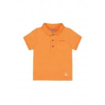 Mothercare Boys Orange Solid T-Shirt