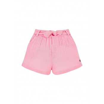 Mothercare Girls Pink Solid Shorts