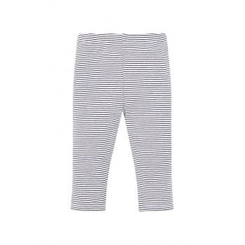 Mothercare Girls Blue Striped Leggings