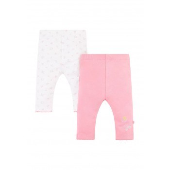 Mothercare Girls Assorted Printed Pack of 2 Leggings