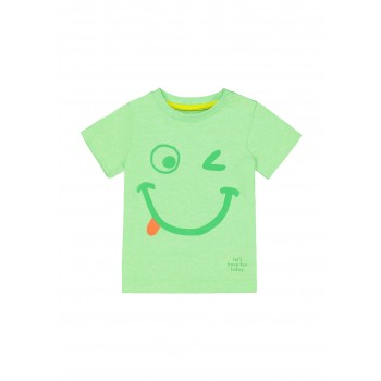 Mothercare Boys Green Printed T-Shirt