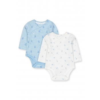 Mothercare Boys Assorted Printed Pack of 2 Bodysuits
