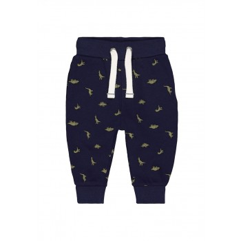 Mothercare Boys Navy Printed Joggers