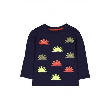 Mothercare Boys Navy Embellished T-Shirt
