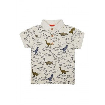 Mothercare Boys White Printed T-Shirt