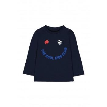 Mothercare Boys Navy Printed T-Shirt
