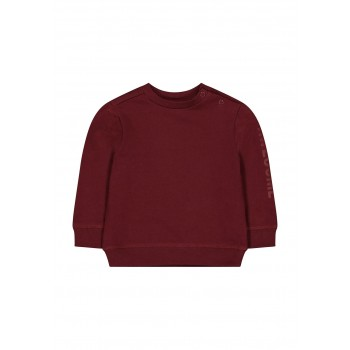 Mothercare Boys Burgundy Solid Sweatshirt