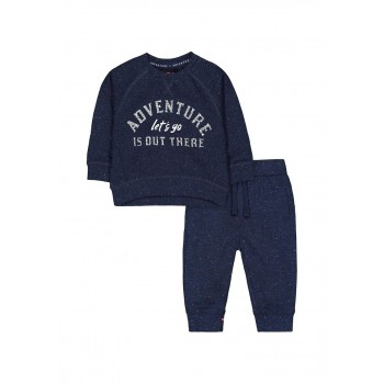 Mothercare Boys Navy Textured Tracksuit