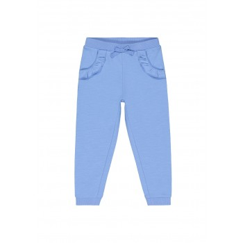 Mothercare Girls Blue Solid Joggers