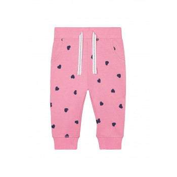 Mothercare Girls Pink Printed Joggers