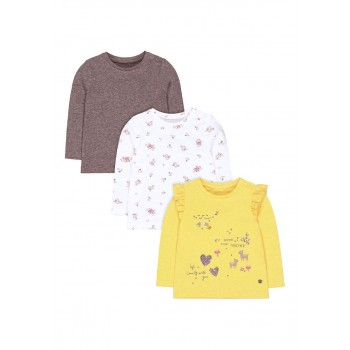 Mothercare Girls Assorted Printed T-Shirt