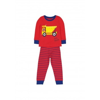 Mothercare Boys Red Printed Nightsuit