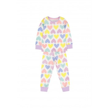 Mothercare Girls Multicolor Printed Nightsuit
