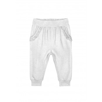 Mothercare Girls Grey Solid Joggers