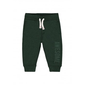 Mothercare Boys Green Printed Joggers