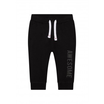 Mothercare Boys Black Printed Joggers