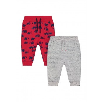 Mothercare Boys Assorted Printed Pack of 2 Joggers